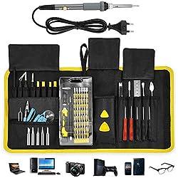 ACCEWIT 87 en 1 Juego de Destornilladores de Precisión Profesional Kit de Brocas Repair Kit Herramientas Para con 87 brocas Magnético, Para PC, IPhone, Tablet, Laptop, Camara, Consola de Juegos