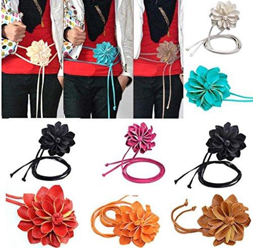 Bund-Rcool-Mode-Dame-Weave-Stretch-elastischen-breiten-Grtel-Bhmen-Hftgurt