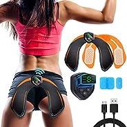 Glutei Elettrostimolatore Muscolare Elettronico Natica Trainer,EMS Glutei Allenatore con USB Ricaricabile, Glu