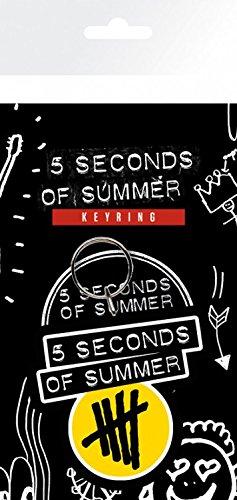 5-seconds-of-summer-5sos-logo-giallo-portachiave-15-x-7cm