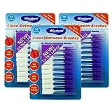 Wisdom Clean Between Interdental Large Purple Brushes - Pack of 3, Total 60