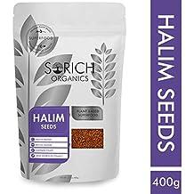 Sorich Organics Halim Seeds - 400 Gm - Garden Cress Seeds - Superfood