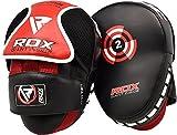 RDX MMA Incurvé Pattes d'ours Boxe Muay Thai Pao Frappe Cible Kick Boxing Pads Mitaines Entraînement