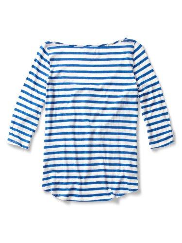 Quiksilver Sea Stripe T-shirt pour femme Hanley Bleu - Bleu