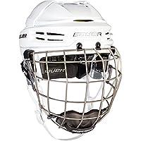 Bauer Reakt 100 casco Combo - Grande, Blanco