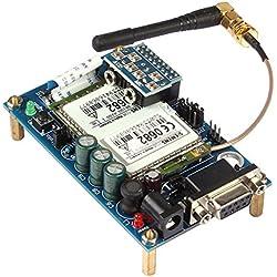 SainSmart compatible Module inalámbrico para GSM Siemens TC35SMS Module Board UART/RS232