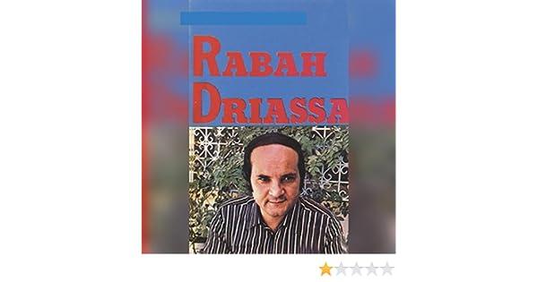 DRIASSA TÉLÉCHARGER ALBUM GRATUIT RABAH