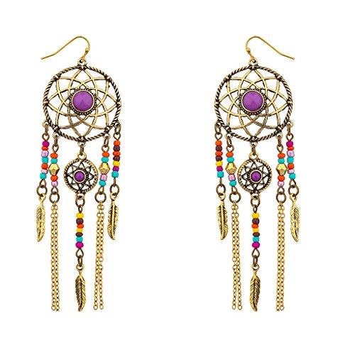 lux-zubehor-multi-farbe-navajo-traumfanger-baumeln-ohrringe