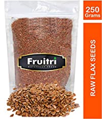 Fruitri Roasted Flax Seeds, Premium Quality, 250g