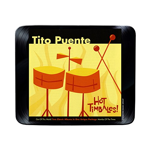 Tito Puente - Hot Timbales Official Album Cover - Mouse Mat / Mouse pad