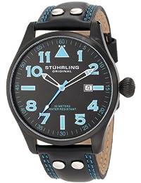 Stührling Original 141.33551 - Reloj de caballero de cuarzo con correa de piel