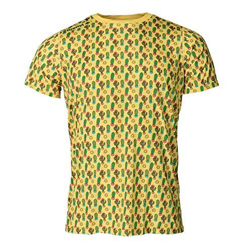Luanvi Camiseta Manga Corta Estampado Cactus Edición