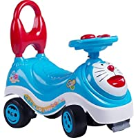 RM Store Doraemon Rider Infant to Toddler Magic CAR,Frog Scooter,Push Tricycle,Bicycle,Cycle Handle,Non Pedal Skate Type…
