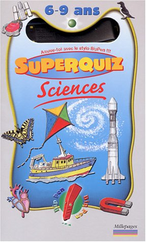 Coffret Sciences Superquiz 6-9 ans