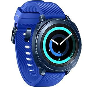 "Samsung Gear Sport 1.2"" AMOLED GPS (satélite) Azul reloj inteligente - Relojes inteligentes (3,05 cm (1.2""), AMOLED, Pantalla táctil, GPS (satélite), 50 g, Azul)"