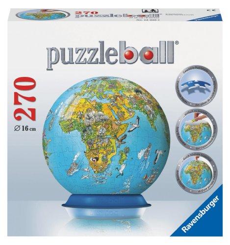 Puzzleball: Illustrated World Map