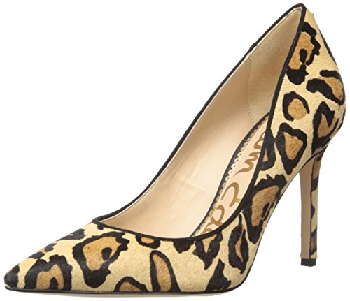 Sam Edelman Women's Hazel Pump, New Nude Leopard, 5 Medium US (Leopard Womens Metallic)