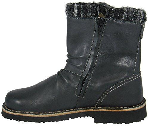 Josef Seibel - Damen Kurzschaft Stiefel - Modell Madleine 05 - Farbe Schwarz Schwarz