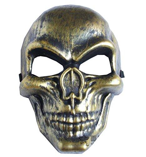 (Black Temptation Halloween-Masken-Schädel Scared Maske Trick-Maskerade-Gesichtsmaske-A2)