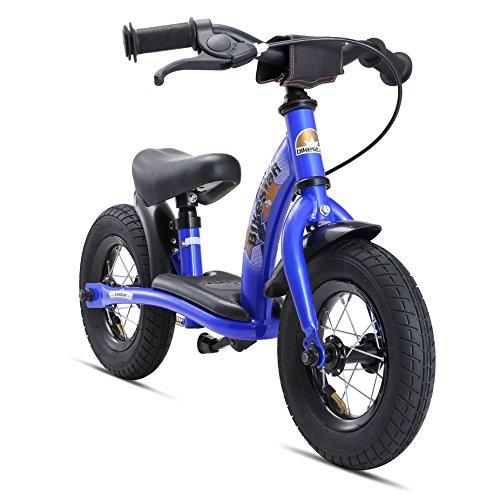 Bikestar Vélo Draisienne Enfants pour Garcons et Filles DE 2-3 Ans ★ Vélo sans pédales évolutive 10 Pouces Classique ★ Bleu