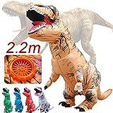 TAOtTAO Inflatable Dolls Erwachsene aufblasbare T-Rex Trex Dinosaurier Explosion Phantasie Kostüm Anzug Party Party Spielzeug (Braun)