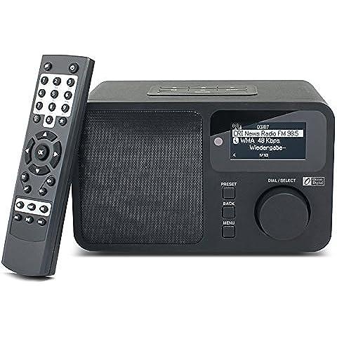 Ocean Digital WiFi Internet Radio WR 232 Wireless Multimedia altavoz de escritorio Music Media Player Pantalla