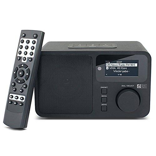Ocean Digital Radio Internet WR232, sveglia, telecomando,nero