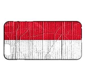 Coque iPhone 6 Drapeau MONACO 04
