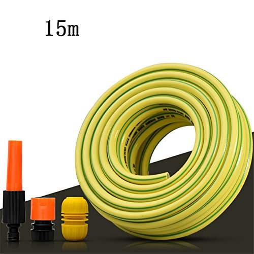 Druckluftschlauch 15M Mit Schnellkupplungen,Gelb