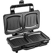 Sonstige XXL Sandwichtoaster ST900, Doppel Toast Sandwichmaker, 900 Watt, (Art# A-G1994289646)