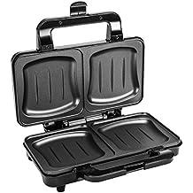 Ultratec XXL Sandwichtoaster ST900, Doppel Toast Sandwichmaker, 900 Watt
