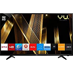 VU 80 cm (32 Inches) HD Ready Smart LED TV 32 (Black) (2019 Model)