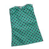 Baoblaze Puppen Kleidung Kleid Prinzessin Puppenkleid Sommer Outfit für 18 Zoll Puppen - C