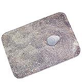 YOUJIA Türmatte Schmutzabstreifer Fußmatte Kopfsteinpflaster Muster Badematten Antirutsch Sauberlaufmatte (Stein #9, 40*60cm)