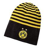 PUMA BVB Reversible Beanie, Black-Cyber Yellow, OSFA