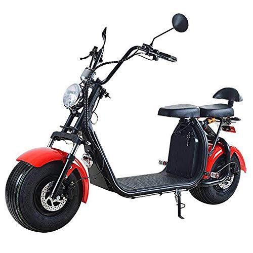 Elektroroller elec. E- Scooter CityCoco Off-Road El-ROLLER E-Bike 1500W 60V 2-Sitze (Elektro-roller 1500w)