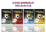 Offerta Speciale 4 DVD La Grande Storia dei Goal Mondiali,Korea, Giappone, Francia, USA, Messico, Italia, Notti Magiche, Totò Schillaci, Maradona, Zidane, Ronaldo