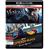 2 Superhero Movies Collection: Venom + Spider-Man: Homecoming