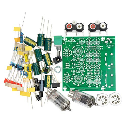 TOOGOO Kit Tubo Bordo amplificatori Audio Amplificatore Pre-Amp Audio Mixer 6J1 Valve preamplificatore Bile Buffer DIY