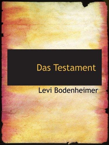 Das Testament (Testament Von Levi)