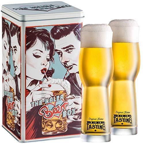 Bier Box Nostalgic (Drinking Couple) -