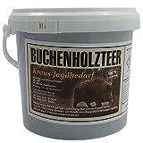 Buchenholzteer 2,5 kg Lockmittel Eimer 100 % natürlich altbewährtes Rezept & enorme Anziehungskraft für Schwarzwild und Rotwild