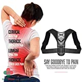 Posture Corrector for Women and Men – Adjustable Back Brace Posture Corrector –
