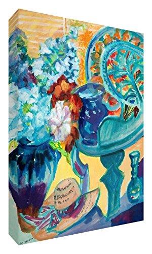 Feel Good Art VJ de Summer Collect ion128–15de sintética multicolor plegable lienzo...