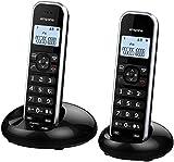 Emporia FB85TWIN Schnurloses DECT Telefon Schwarz
