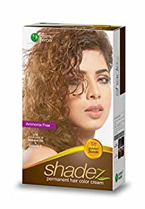 Shadez Permanent Hair Color Cream, Golden Blonde 50g (1pc)