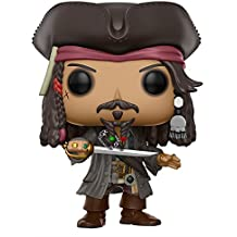 Funko - Figurine Disney Pirates Des Caraibes 5 - Jack Sparrow Pop 10cm - 0889698128032