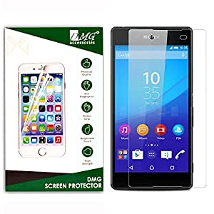 Dmg 2.5D Bubble-Free Tempered Screen Protector For Sony Xperia Z4 Dual (No Fingerprints Anti-Scratch Oil Coated Washable)