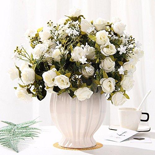 Emulation Blumen rose Seide blumentisch Blumen getrocknete Blumen Dekoration im Wohnzimmer Home Dekoration Pflanzen swing Teil 7
