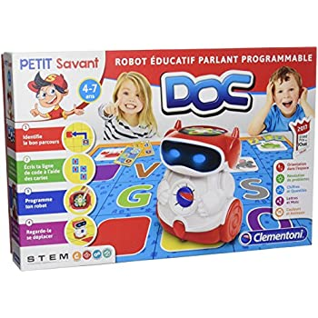 Clementoni 52252 Doc Robot Éducatif Parlant Programmable